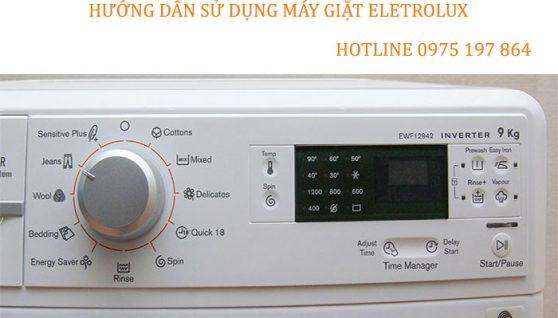 Hướng dẫn sử dụng máy giặt Electrolux – Electrolux Hải Dương