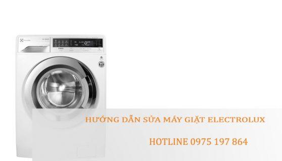 Hướng dẫn sửa máy giặt Electrolux – Electrolux Hải Dương
